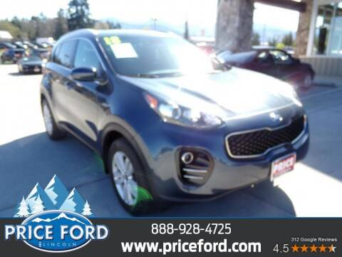 2018 Kia Sportage for sale at Price Ford Lincoln in Port Angeles WA