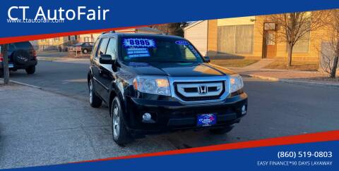 2011 Honda Pilot for sale at CT AutoFair in West Hartford CT