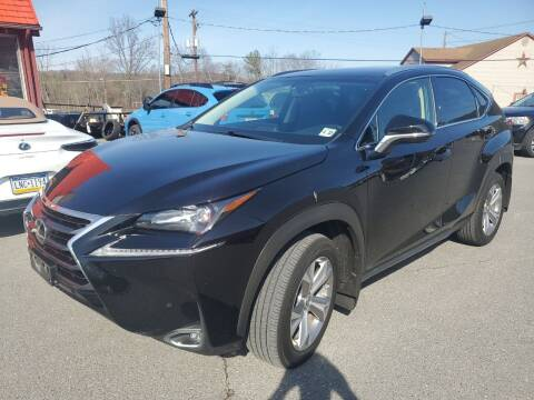 2017 Lexus NX 200t for sale at Mulligan's Auto Exchange LLC in Paxinos PA