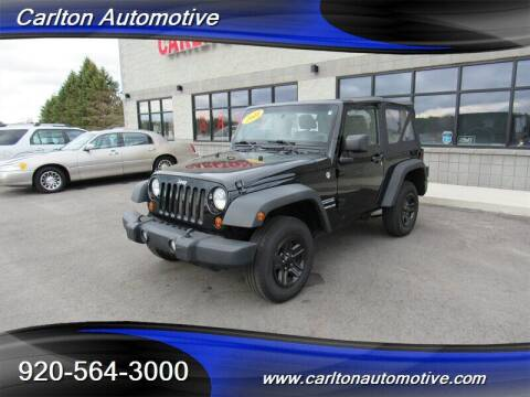 2011 Jeep Wrangler for sale at Carlton Automotive Inc in Oostburg WI