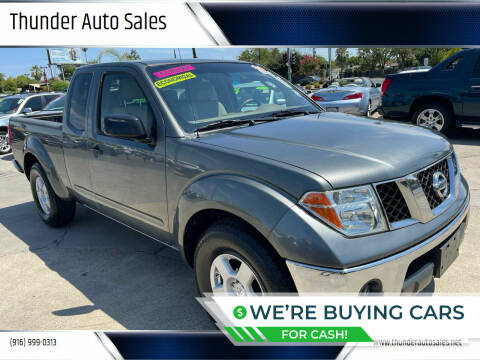 2005 Nissan Frontier for sale at Thunder Auto Sales in Sacramento CA