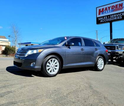 2010 Toyota Venza for sale at Hayden Cars in Coeur D Alene ID