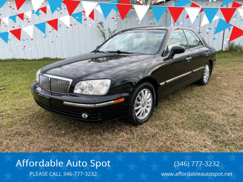 2004 Hyundai XG350 for sale at Affordable Auto Spot in Houston TX