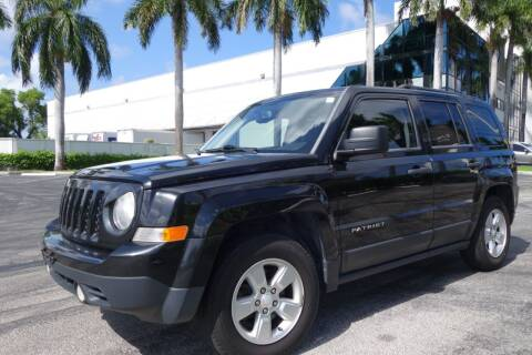 2014 Jeep Patriot for sale at SR Motorsport in Pompano Beach FL