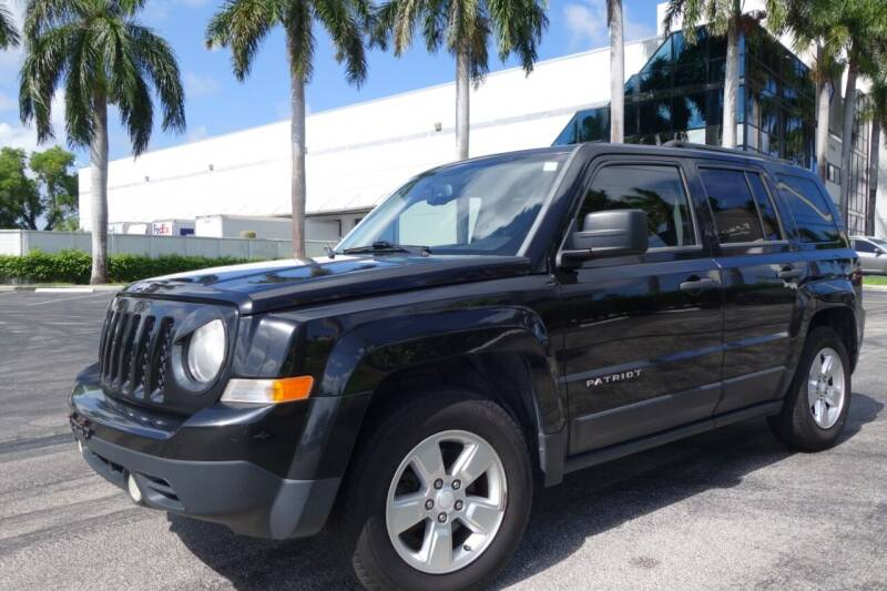 2014 Jeep Patriot for sale at SR Motorsport in Pompano Beach FL