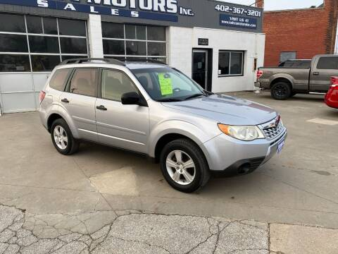 2012 Subaru Forester for sale at Kobza Motors Inc. in David City NE