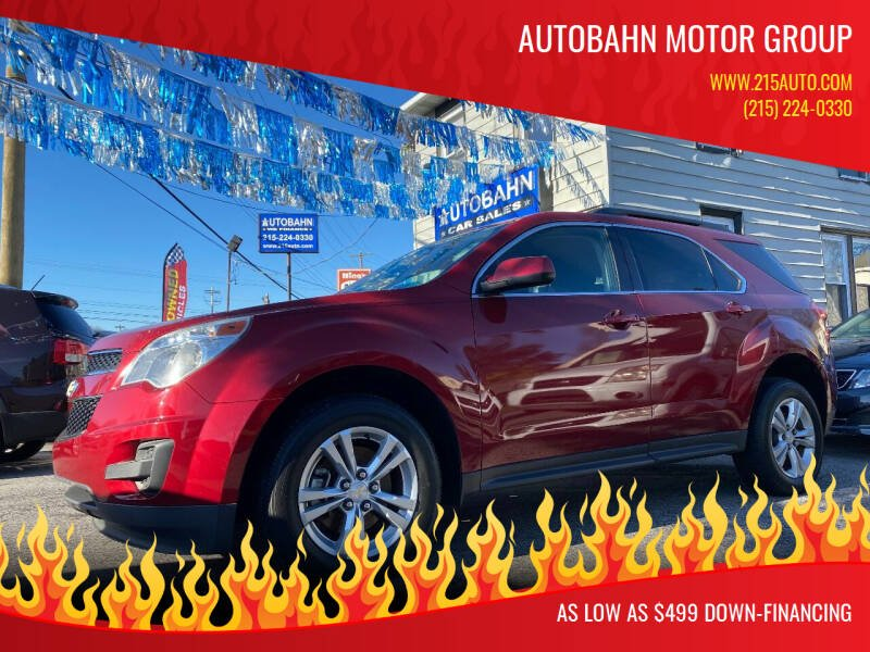 2013 Chevrolet Equinox for sale at Autobahn Motor Group in Willow Grove PA