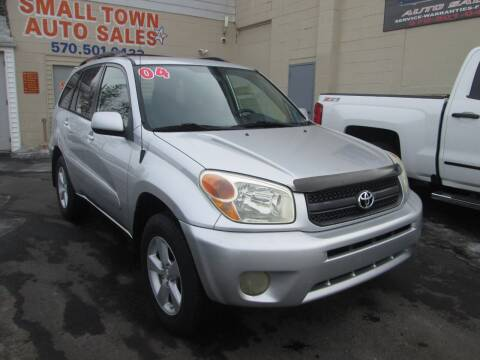 2004 Toyota RAV4 for sale at Small Town Auto Sales in Hazleton PA