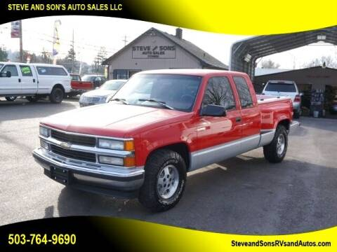 1995 Chevrolet C/K 1500 Series for sale at Steve & Sons Auto Sales in Happy Valley OR