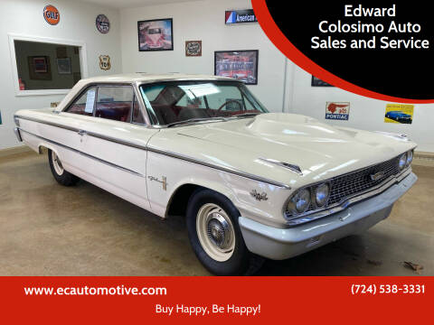 1963 Ford Galaxie 500 for sale at Edward Colosimo Auto Sales and Service in Evans City PA