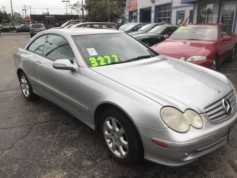 2003 Mercedes-Benz CLK for sale at Klein on Vine in Cincinnati OH