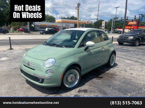 2014 FIAT 500 for sale at Hot Deals On Wheels in Tampa FL