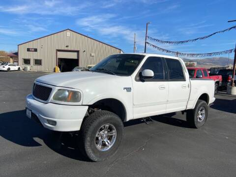 2001 Ford F-150 for sale at Auto Image Auto Sales in Pocatello ID