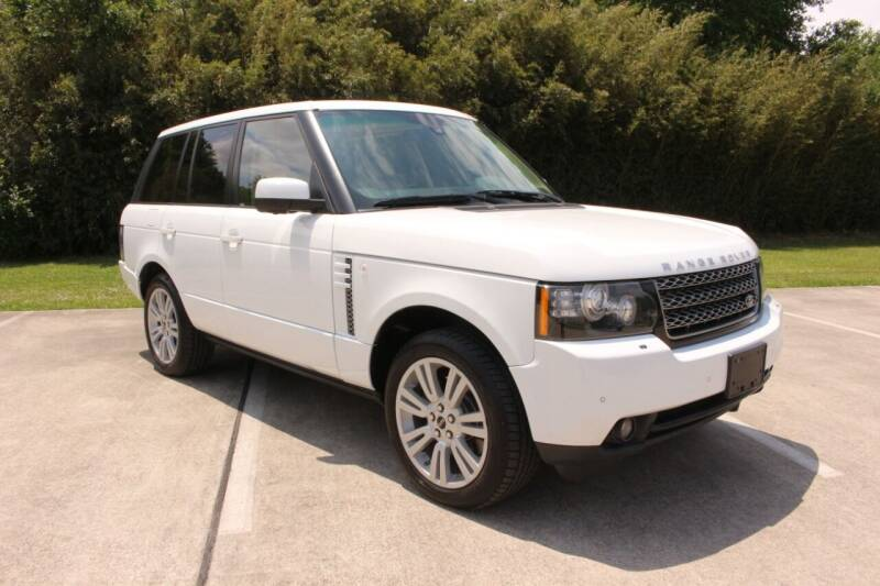 2012 Land Rover Range Rover for sale at Clear Lake Auto World in League City TX