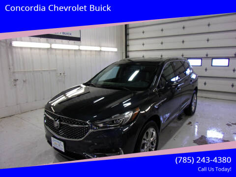 2020 Buick Enclave for sale at Concordia Chevrolet Buick in Concordia KS