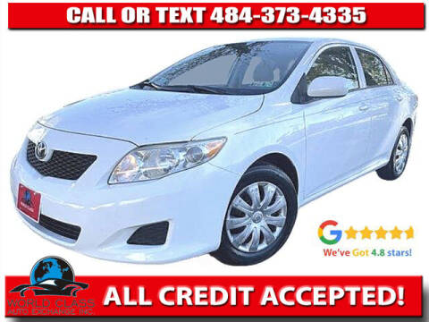 2010 Toyota Corolla for sale at World Class Auto Exchange in Lansdowne PA
