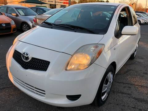 2007 Toyota Yaris for sale at Atlantic Auto Sales in Garner NC