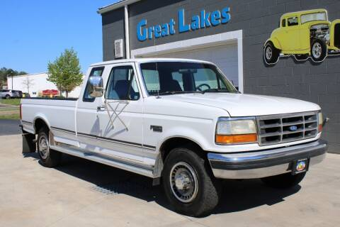 1992 Ford F-250 for sale at Great Lakes Classic Cars & Detail Shop in Hilton NY
