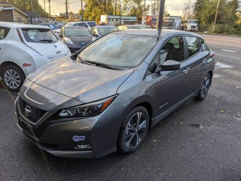 2019 Nissan LEAF for sale at EV RIDES LLC in Portland OR