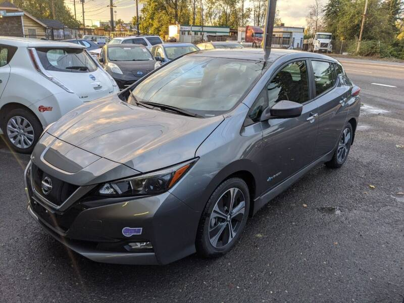 2019 Nissan LEAF for sale at EV RIDES LLC in Portland OR