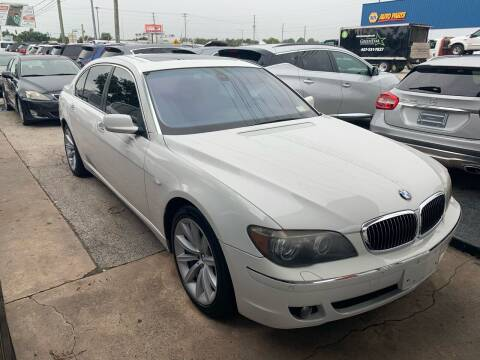 2007 BMW 7 Series for sale at P J Auto Trading Inc in Orlando FL