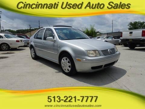 2005 Volkswagen Jetta for sale at Cincinnati Used Auto Sales in Cincinnati OH