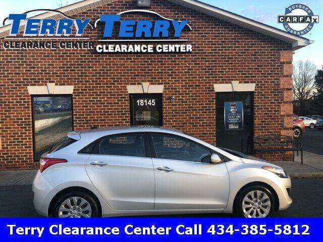2017 Hyundai Elantra GT for sale at Terry Clearance Center in Lynchburg VA