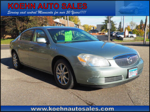 2007 Buick Lucerne for sale at Koehn Auto Sales in Lindstrom MN