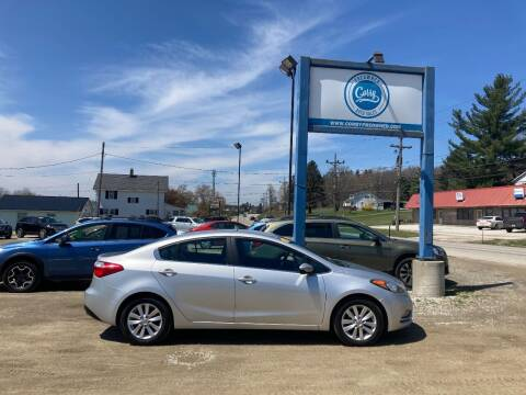 2014 Kia Forte for sale at Corry Pre Owned Auto Sales in Corry PA