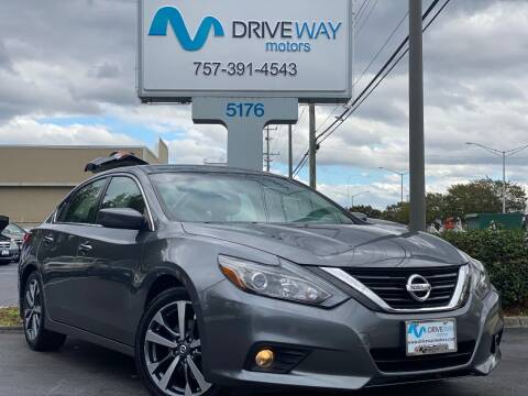 2016 Nissan Altima for sale at Driveway Motors in Virginia Beach VA