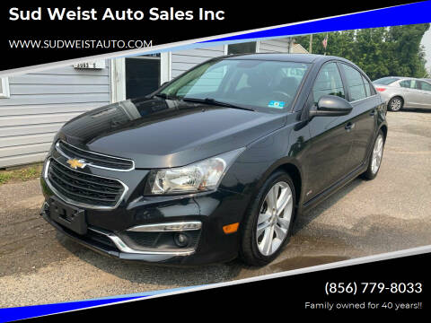 2015 Chevrolet Cruze for sale at Sud Weist Auto Sales Inc in Maple Shade NJ
