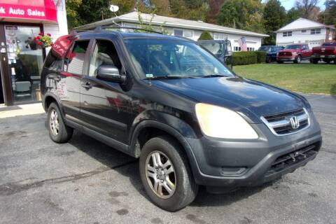 2003 Honda CR-V for sale at Dave Franek Automotive in Wantage NJ