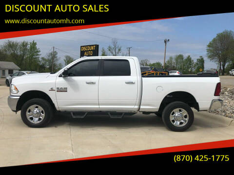 2017 RAM Ram Pickup 2500 for sale at DISCOUNT AUTO SALES in Mountain Home AR