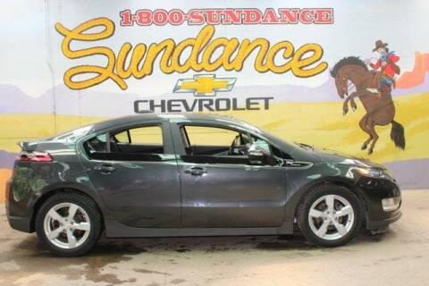 2015 Chevrolet Volt for sale at Sundance Chevrolet in Grand Ledge MI