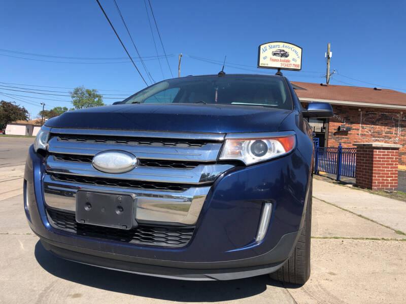 2012 Ford Edge for sale at All Starz Auto Center Inc in Redford MI