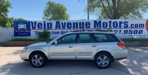 2005 Subaru Outback for sale at Velp Avenue Motors LLC in Green Bay WI