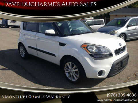2013 Kia Soul for sale at Dave Ducharme's Auto Sales in Lowell MA