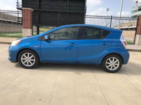 2012 Toyota Prius c for sale at ALL AMERICAN FINANCE AND AUTO in Houston TX