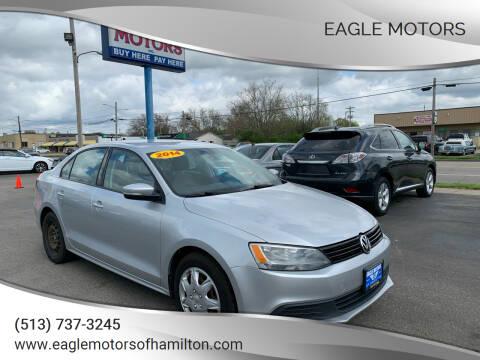 2014 Volkswagen Jetta for sale at Eagle Motors in Hamilton OH