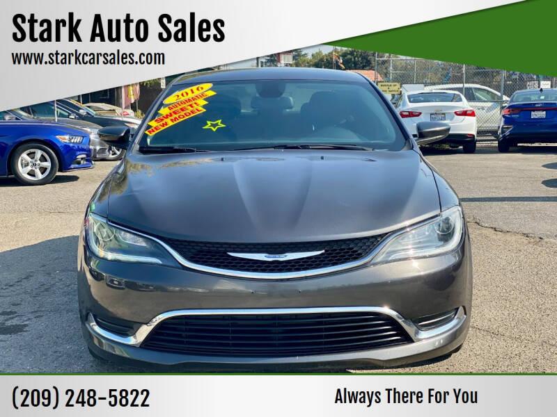 2016 Chrysler 200 for sale at Stark Auto Sales in Modesto CA