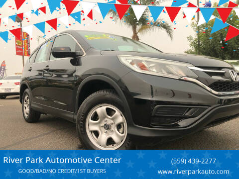2015 Honda CR-V for sale at River Park Automotive Center in Fresno CA