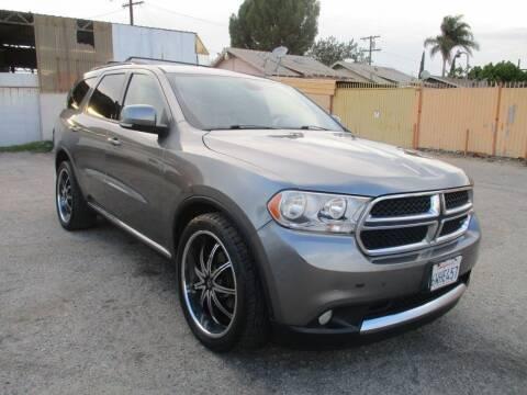 2012 Dodge Durango for sale at E and M Auto Sales in Bloomington CA