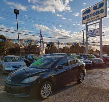 2012 Mazda MAZDA3 for sale at 4 U MOTORS in El Paso TX