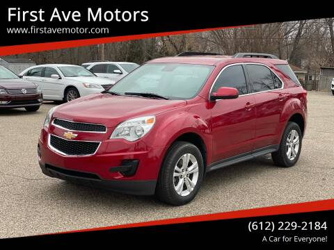 2015 Chevrolet Equinox for sale at First Ave Motors in Shakopee MN