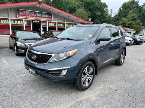 2014 Kia Sportage for sale at Mira Auto Sales in Raleigh NC