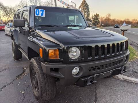 2007 HUMMER H3 for sale at GREAT DEALS ON WHEELS in Michigan City IN
