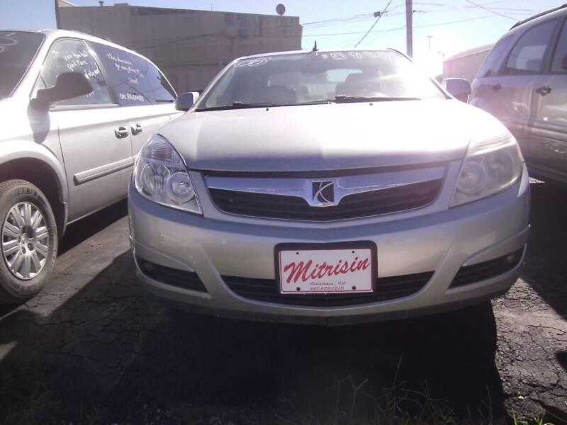 2008 Saturn Aura for sale at MITRISIN MOTORS INC in Oskaloosa IA