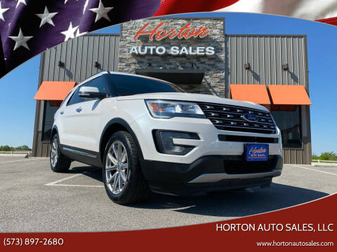 2016 Ford Explorer for sale at HORTON AUTO SALES, LLC in Linn MO