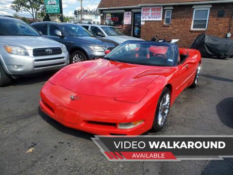 2002 Chevrolet Corvette for sale at Kar Connection in Little Ferry NJ