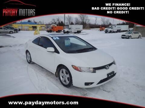 2008 Honda Civic for sale at Payday Motors in Wichita And Topeka KS